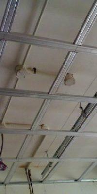 False ceiling grid structure